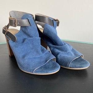 KENTIA | Italian Leather Strap Sandal with Heel
